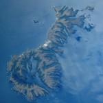 Auckland Islands Aerial photo